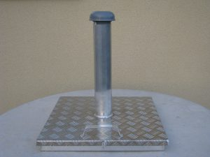 Alumiiniset huoltoluukut